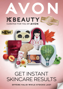Avon K beauty Brochure